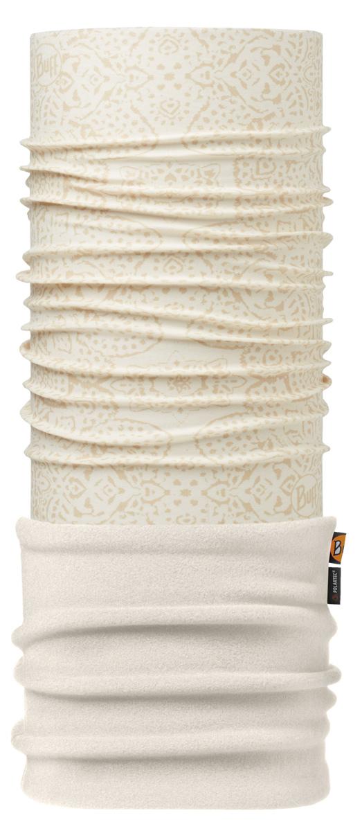 Бандана Buff Polar Zayda Cru / Cru-Cru-Standard, цвет: кремовый. 113107.014.10.00. Размер универсальный113107.014.10.00Теплая бандана-шарф Polar Buff - это бандана-труба из серии Original Buff, пришитая к цилиндру из Polartec Classic Fleece 100. В холодную погоду Polar Buff поддерживает нормальную температуру тела и предотвращает потерю тепла, благодаря комбинации микрофибры и Polartec. Благодаря своей универсальности, функциональности и практичности Polar Buff завоевал огромную популярность среди людей, ее можно использовать как шапку, шарф, бандану на лицо и уши, балаклаву, маску. Неотъемлемая часть зимней одежды, подходит для любой активности в холодное время года.