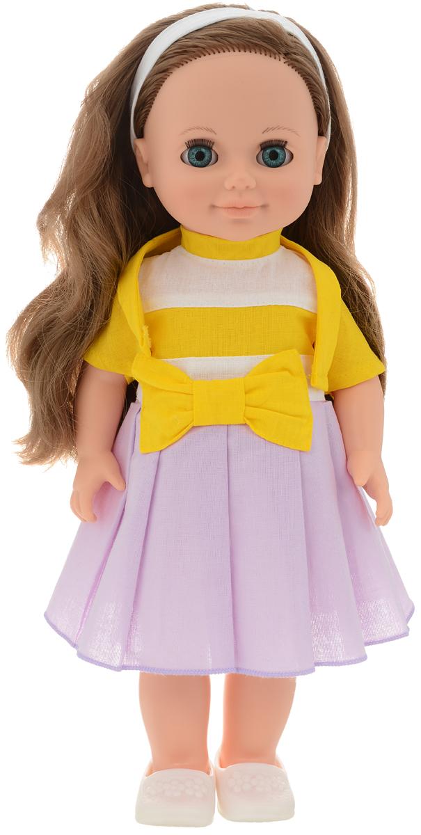 Весна Кукла озвученная Анна цвет наряда желтый сиреневый