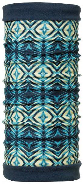 Бандана Buff PolarReversible Blue Poison/Even.Sky, цвет: синий. (101206.00) 431889. Размер универсальный(101206.00) 431889Теплая бандана-шарф Polar Buff - это бандана-труба из серии Original Buff, пришитая к цилиндру из Polartec Classic Fleece 100. В холодную погоду Polar Buff поддерживает нормальную температуру тела и предотвращает потерю тепла, благодаря комбинации микрофибры и Polartec. Благодаря своей универсальности, функциональности и практичности Polar Buff завоевал огромную популярность среди людей, ее можно использовать как шапку, шарф, бандану на лицо и уши, балаклаву, маску. Неотъемлемая часть зимней одежды, подходит для любой активности в холодное время года. Размер (обхват головы): 53-62 см.