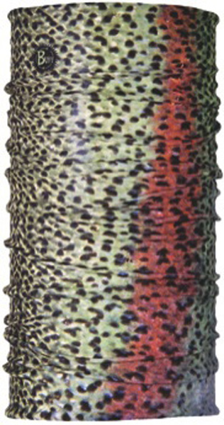 Бандана Buff Rainbow Trout-2, цвет: коричневый. 18708. Размер универсальный18708Buff - это оригинальные, мультифункциональные, бесшовные головные уборы - удобные и комфортные для любого вида активного отдыха и спорта. Оригинальные, потому что Buff был и является первым в мире брендом мультифункциональных, бесшовных и универсальных головных уборов. Мультифункциональные, потому что их можно носить самыми разными способами: как шарф, как шапку, как балаклаву, косынку, бандану, маску, напульсник и многими другими - решает Ваша фантазия! Универсальный головной убор, который можно носить более чем двенадцатью способами, который можно использовать при занятии любым видом спорта, езде на велосипеде и мотоцикле, катаясь или бегая на лыжах, и даже как аксессуар в городской одежде. Бесшовные, благодаря эластичности, позволяющей использовать эти головные уборы как угодно и не беспокоиться о том, что кожа может быть натерта или раздражена швами. Размер (обхват головы): 53-62 см.