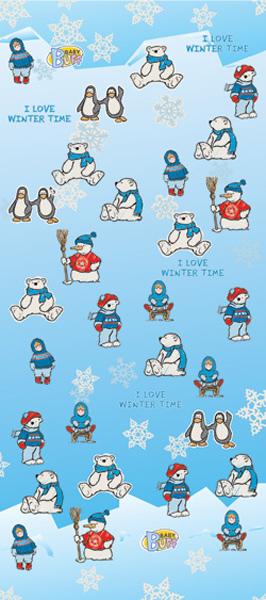 Бандана детская Buff Tubular Baby Buff Hello Winter, цвет: голубой. 30175. Размер универсальный30175Идеально подходит для детей, которые любят носить многофункциональные и легкие вещи. Buff можно использовать круглый год для защиты от холода. Дети могут легко носить его с собой в кармане или рюкзаке.Особенности:- высокая эластичность, отсутствие швов, многофункциональная трубчатая форма, 100% микрофибра- хорошая воздухопроницаемость и отведение влаги- доступны размеры для самых маленьких- 100% полиэстер, микрофибра.