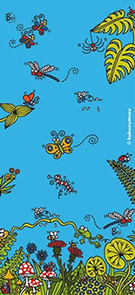 Бандана Buff Tubular Junior Kukuxumusu Forestan, цвет: голубой. 81916. Размер универсальный81916Бандана Buff - универсальный головной убор, который можно носить более чем двенадцатью способами, который можно использовать при занятии любым видом спорта, езде на велосипеде и мотоцикле, катаясь или бегая на лыжах, и даже как аксессуар в городской одежде. Бесшовные, благодаря эластичности, позволяющей использовать эти головные уборы как угодно и не беспокоиться о том, что кожа может быть натерта или раздражена швами.Buff - это оригинальные, мультифункциональные, бесшовные головные уборы - удобные и комфортные для любого вида активного отдыха и спорта. Оригинальные, потому что Buff был и является первым в мире брендом мультифункциональных, бесшовных и универсальных головных уборов. Мультифункциональные, потому что их можно носить самыми разными способами: как шарф, как шапку, как балаклаву, косынку, бандану, маску, напульсник и многими другими - решает Ваша фантазия!