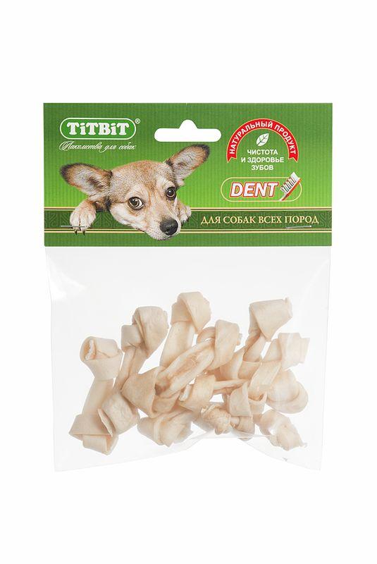 Лакомство Titbit Кость узловая, для собак001943Лакомство Titbit - высушенная говяжья кожа, свернутая в форме кости размером 4-6 см. Благодаря большому содержанию аминокислот и коллагена положительно воздействует на состояние кожи и шерсти собаки, а также обеспечивает поступление в организм незаменимых компонентов для роста и поддержания качества хрящевой ткани суставов собак. Способствует укреплению десен и жевательных мышц. Развивает зубочелюстной аппарат, отвлекает собаку во время смены зубов.Тайная жизнь домашних животных: чем занять собаку, пока вы на работе. Статья OZON Гид