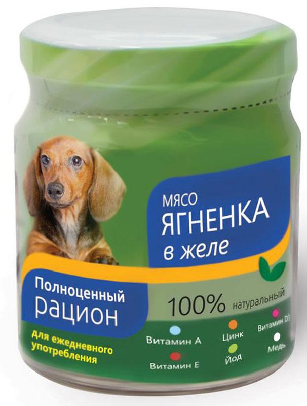 Консервы Titbit для собак, мясо ягненка в желе, 100 г004401Консервы Titbit - сбалансированный рацион из натурального мяса и овощей, обогащенных витаминами и минералами; идеально подходит для ежедневного употребления собаками мелких пород. Изготовлен из натуральных мясных продуктов. не содержит сои. искусственных красителей, консервантов и ароматизаторов.Состав: мясо ягненка. вода, желеобразователь, морковь, сладкий перец, капуста морская, минерально-витаминный комплекс.