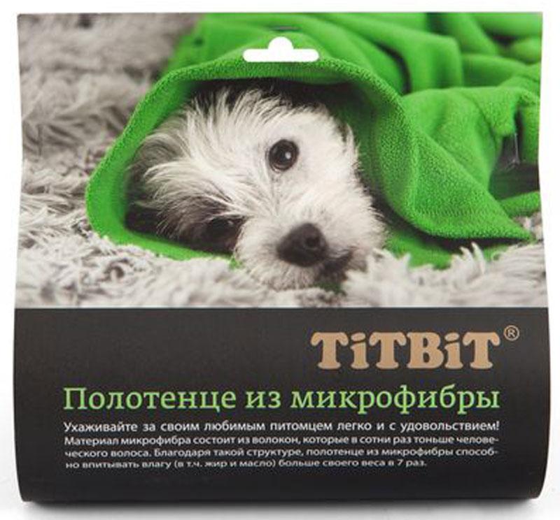 Полотенце для животных  Titbit , 70 х 140 см - Товары для ухода (груминг)