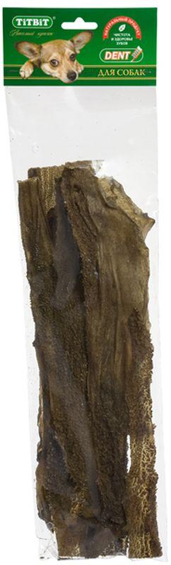 Лакомство Titbit Желудок бараний XXL, для собак2300Лакомство Titbit - пластины сушеного бараньего желудка размером около 35-40 см, 4-5 пластин. Содержит низкокалорийный, легкоусвояемый, гипоаллергенный белок. Богат витаминами и ферментами микрофлоры желудка жвачных животных. Продукт восполняет дефицит ферментов в организме собаки, способствует хорошему пищеварению, профилактике дисбактериоза. Особенно помогает в решении такой неприятной поведенческой проблемы, как поиск и поедание собаками фекалий и отбросов. Сушеный рубец мгновенно устранит дефицит витаминов и нормализует микрофлору.Тайная жизнь домашних животных: чем занять собаку, пока вы на работе. Статья OZON Гид