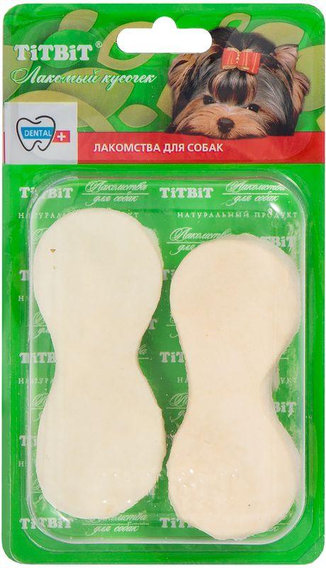 Лакомство Titbit Чипсы говяжьи, для собак319786Лакомство Titbit - высушенная говяжья кожа в форме чипсы. Упаковка содержит 2-3 штуки. Благодаря большому содержанию аминокислот и коллагена положительно воздействует на хрящевую ткань, состояние кожи и шерсти собаки. Способствует снятию зубного камня. Хорошо развивает челюсти.