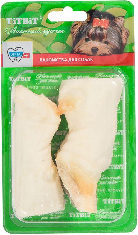 Лакомство Titbit Копытце баранье, для собак5776Лакомство Titbit содержит 2 бараньих копытца. Гипоаллергенный белок, высокое содержание хрящевой и соединительной ткани. Изделие содержит кожу, много кости, жира, коллагеновой соединительной ткани и лишь прослойки мышечной ткани. Массирует десны и укрепляет жевательную мускулатуру, очищает зубной налет и предотвращает возникновение зубного камня. Прекрасная игрушка, сохраняющая в целости предметы интерьера и личные вещи. Изделие содержит трубчатую кость и не предназначено для полного поедания. Как только собака съела футляр из кожи, сухожилий и мышц – необходимо заменить лакомство на новое.