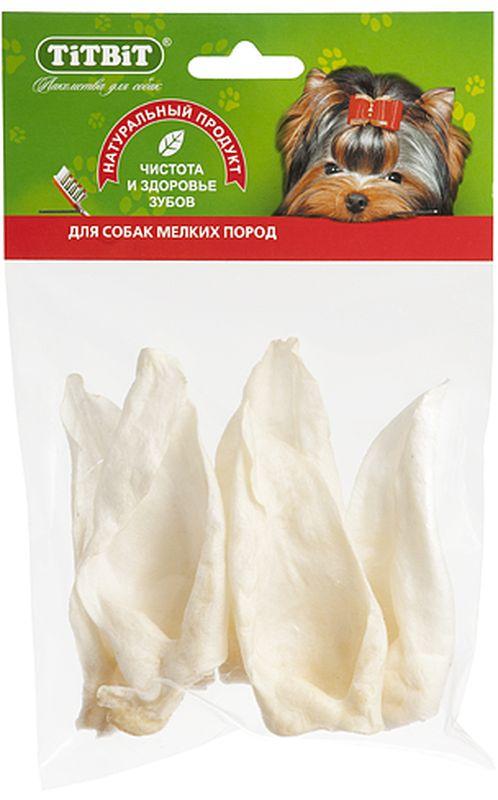 Лакомство Titbit Ухо кроличье, для собак лакомство для собак мелких пород titbit 2247 печенье с начинкой из мяса индейки и сыра