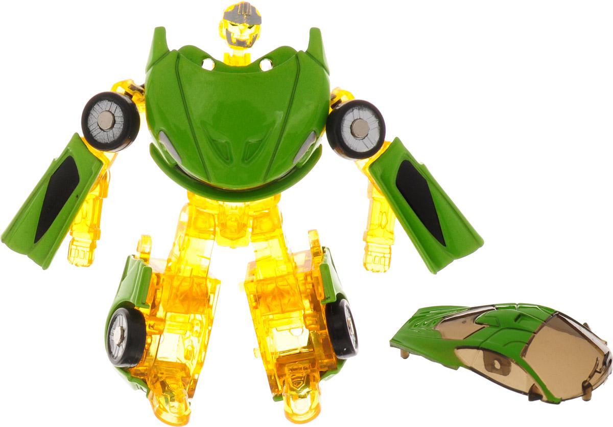 Yako Робот трансформер цвет желтый Y3686093-2 интерактивные игрушки yako робот y2055209