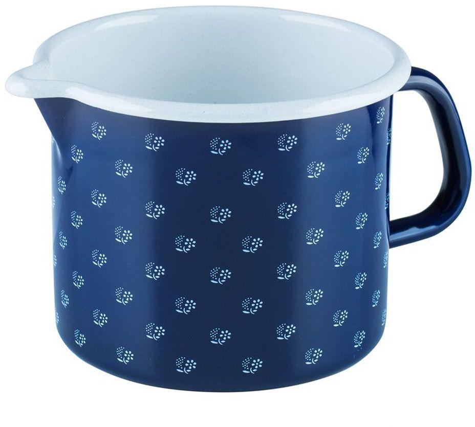 Кружка Riess Dirndlblau, 1,7 л0041-074Торговая марка «Riess» представляет собой эксклюзивную коллекцию стальной посуды, покрытую двумя слоями стекловидной эмали. Производится в Австрии с 1550 года с применением новейших технологий. Высочайшее качество и уникальный дизайн широко известны и высоко оценены покупателями эмалированной посуды во всем мире. Разнообразные расцветки с уникальным декором являются вдохновением к приготовлению пищи и воплощают в жизнь все последние тенденции в декорации кухни и столовой. Благодаря высокой устойчивости к ультрафиолетовому излучению, вы очень долго будете наслаждаться нежными расцветками и блеском эмалированной посуды «Riess». В жаровнях и сковородках можно варить, жарить, тушить. Подходит для всех видов плит, включая индукционную. Также можно использовать в духовке. Легко очищаются: достаточно ненадолго замочить в воде и протереть губкой для мытья посуды с моющим средством.Можно использовать моющие средства и мыть в посудомоечной машине. При уходе за изделием запрещается использовать абразивные материалы. Срок годности не ограничен.