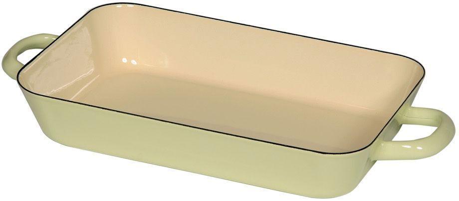 Жаровня Riess Pastell, с эмалевым покрытием, 29 х 18 х 5,4 см0045-006Торговая марка «Riess» представляет собой эксклюзивную коллекцию стальной посуды, покрытую двумя слоями стекловидной эмали. Производится в Австрии с 1550 года с применением новейших технологий. Высочайшее качество и уникальный дизайн широко известны и высоко оценены покупателями эмалированной посуды во всем мире. Разнообразные расцветки с уникальным декором являются вдохновением к приготовлению пищи и воплощают в жизнь все последние тенденции в декорации кухни и столовой. Благодаря высокой устойчивости к ультрафиолетовому излучению, вы очень долго будете наслаждаться нежными расцветками и блеском эмалированной посуды «Riess». В жаровнях и сковородках можно варить, жарить, тушить. Подходит для всех видов плит, включая индукционную. Также можно использовать в духовке. Легко очищаются: достаточно ненадолго замочить в воде и протереть губкой для мытья посуды с моющим средством.Можно использовать моющие средства и мыть в посудомоечной машине. При уходе за изделием запрещается использовать абразивные материалы. Срок годности не ограничен.