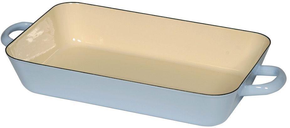 Жаровня Riess Pastell, с эмалевым покрытием, 33 х 20 х 6,3 см0046-006Торговая марка «Riess» представляет собой эксклюзивную коллекцию стальной посуды, покрытую двумя слоями стекловидной эмали. Производится в Австрии с 1550 года с применением новейших технологий. Высочайшее качество и уникальный дизайн широко известны и высоко оценены покупателями эмалированной посуды во всем мире. Разнообразные расцветки с уникальным декором являются вдохновением к приготовлению пищи и воплощают в жизнь все последние тенденции в декорации кухни и столовой. Благодаря высокой устойчивости к ультрафиолетовому излучению, вы очень долго будете наслаждаться нежными расцветками и блеском эмалированной посуды «Riess». В жаровнях и сковородках можно варить, жарить, тушить. Подходит для всех видов плит, включая индукционную. Также можно использовать в духовке. Легко очищаются: достаточно ненадолго замочить в воде и протереть губкой для мытья посуды с моющим средством.Можно использовать моющие средства и мыть в посудомоечной машине. При уходе за изделием запрещается использовать абразивные материалы. Срок годности не ограничен.