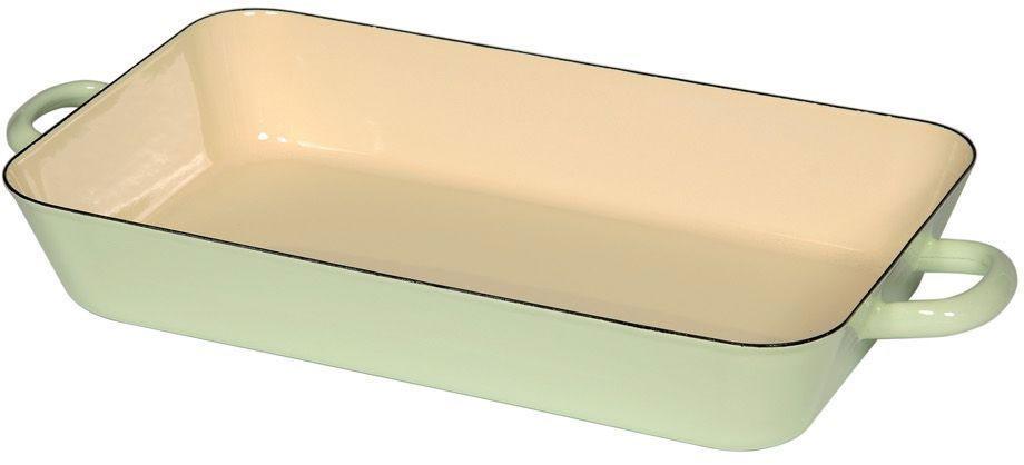 Жаровня Riess Pastell, с эмалевым покрытием, 37 х 22 х 6,5 см0047-006Торговая марка «Riess» представляет собой эксклюзивную коллекцию стальной посуды, покрытую двумя слоями стекловидной эмали. Производится в Австрии с 1550 года с применением новейших технологий. Высочайшее качество и уникальный дизайн широко известны и высоко оценены покупателями эмалированной посуды во всем мире. Разнообразные расцветки с уникальным декором являются вдохновением к приготовлению пищи и воплощают в жизнь все последние тенденции в декорации кухни и столовой. Благодаря высокой устойчивости к ультрафиолетовому излучению, вы очень долго будете наслаждаться нежными расцветками и блеском эмалированной посуды «Riess». В жаровнях и сковородках можно варить, жарить, тушить. Подходит для всех видов плит, включая индукционную. Также можно использовать в духовке. Легко очищаются: достаточно ненадолго замочить в воде и протереть губкой для мытья посуды с моющим средством.Можно использовать моющие средства и мыть в посудомоечной машине. При уходе за изделием запрещается использовать абразивные материалы. Срок годности не ограничен.