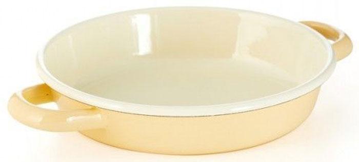 Жаровня для омлета Riess Pastell, с эмалевым покрытием. Диаметр 18 см0293-006Торговая марка «Riess» представляет собой эксклюзивную коллекцию стальной посуды, покрытую двумя слоями стекловидной эмали. Производится в Австрии с 1550 года с применением новейших технологий. Высочайшее качество и уникальный дизайн широко известны и высоко оценены покупателями эмалированной посуды во всем мире. Разнообразные расцветки с уникальным декором являются вдохновением к приготовлению пищи и воплощают в жизнь все последние тенденции в декорации кухни и столовой. Благодаря высокой устойчивости к ультрафиолетовому излучению, вы очень долго будете наслаждаться нежными расцветками и блеском эмалированной посуды «Riess». В жаровнях и сковородках можно варить, жарить, тушить. Подходит для всех видов плит, включая индукционную. Также можно использовать в духовке. Легко очищаются: достаточно ненадолго замочить в воде и протереть губкой для мытья посуды с моющим средством.Можно использовать моющие средства и мыть в посудомоечной машине. При уходе за изделием запрещается использовать абразивные материалы. Срок годности не ограничен.
