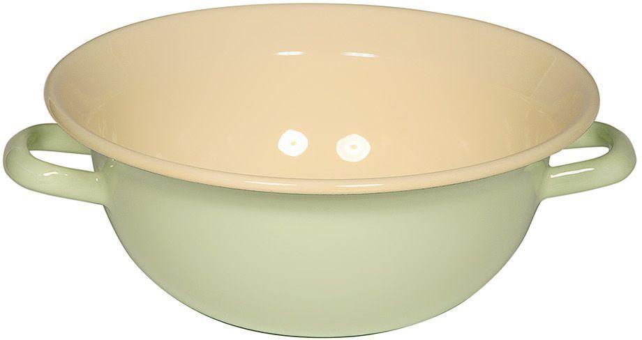 Вэйтлинг Riess Pastell, 3,5 л0295-006Торговая марка «Riess» представляет собой эксклюзивную коллекцию стальной посуды, покрытую двумя слоями стекловидной эмали. Производится в Австрии с 1550 года с применением новейших технологий. Высочайшее качество и уникальный дизайн широко известны и высоко оценены покупателями эмалированной посуды во всем мире. Разнообразные расцветки с уникальным декором являются вдохновением к приготовлению пищи и воплощают в жизнь все последние тенденции в декорации кухни и столовой. Благодаря высокой устойчивости к ультрафиолетовому излучению, вы очень долго будете наслаждаться нежными расцветками и блеском эмалированной посуды «Riess». В жаровнях и сковородках можно варить, жарить, тушить. Подходит для всех видов плит, включая индукционную. Также можно использовать в духовке. Легко очищаются: достаточно ненадолго замочить в воде и протереть губкой для мытья посуды с моющим средством.Можно использовать моющие средства и мыть в посудомоечной машине. При уходе за изделием запрещается использовать абразивные материалы. Срок годности не ограничен.
