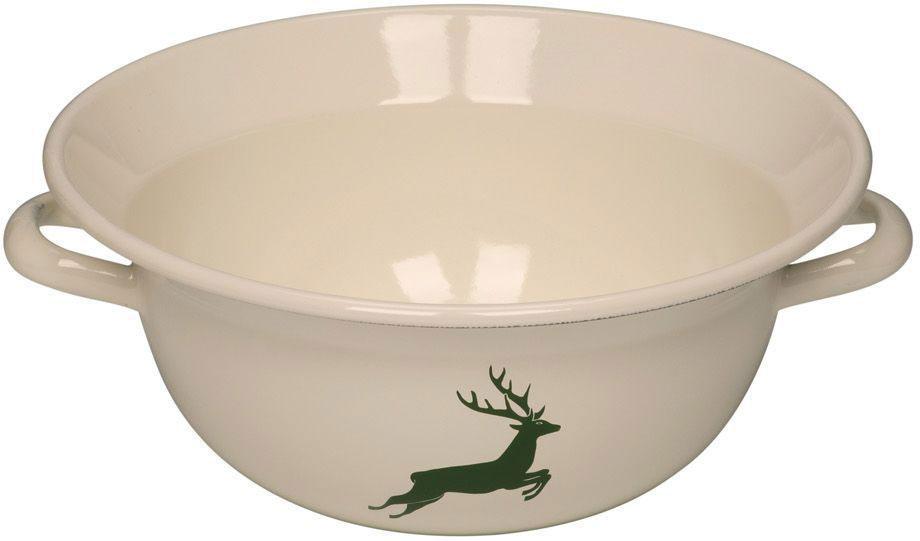 Вэйтлинг Riess Hirsch Grun, 4 л0296-072Торговая марка «Riess» представляет собой эксклюзивную коллекцию стальной посуды, покрытую двумя слоями стекловидной эмали. Производится в Австрии с 1550 года с применением новейших технологий. Высочайшее качество и уникальный дизайн широко известны и высоко оценены покупателями эмалированной посуды во всем мире. Разнообразные расцветки с уникальным декором являются вдохновением к приготовлению пищи и воплощают в жизнь все последние тенденции в декорации кухни и столовой. Благодаря высокой устойчивости к ультрафиолетовому излучению, вы очень долго будете наслаждаться нежными расцветками и блеском эмалированной посуды «Riess». В жаровнях и сковородках можно варить, жарить, тушить. Подходит для всех видов плит, включая индукционную. Также можно использовать в духовке. Легко очищаются: достаточно ненадолго замочить в воде и протереть губкой для мытья посуды с моющим средством.Можно использовать моющие средства и мыть в посудомоечной машине. При уходе за изделием запрещается использовать абразивные материалы. Срок годности не ограничен.