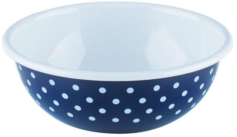 Салатник Riess Blumchenblau, 1 л0305-075Торговая марка «Riess» представляет собой эксклюзивную коллекцию стальной посуды, покрытую двумя слоями стекловидной эмали. Производится в Австрии с 1550 года с применением новейших технологий. Высочайшее качество и уникальный дизайн широко известны и высоко оценены покупателями эмалированной посуды во всем мире. Разнообразные расцветки с уникальным декором являются вдохновением к приготовлению пищи и воплощают в жизнь все последние тенденции в декорации кухни и столовой. Благодаря высокой устойчивости к ультрафиолетовому излучению, вы очень долго будете наслаждаться нежными расцветками и блеском эмалированной посуды «Riess». В жаровнях и сковородках можно варить, жарить, тушить. Подходит для всех видов плит, включая индукционную. Также можно использовать в духовке. Легко очищаются: достаточно ненадолго замочить в воде и протереть губкой для мытья посуды с моющим средством.Можно использовать моющие средства и мыть в посудомоечной машине. При уходе за изделием запрещается использовать абразивные материалы. Срок годности не ограничен.