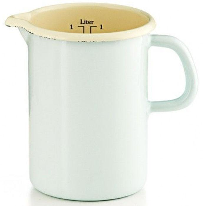 Кружка мерная Riess Pastell, 1 л0338-006Торговая марка «Riess» представляет собой эксклюзивную коллекцию стальной посуды, покрытую двумя слоями стекловидной эмали. Производится в Австрии с 1550 года с применением новейших технологий. Высочайшее качество и уникальный дизайн широко известны и высоко оценены покупателями эмалированной посуды во всем мире. Разнообразные расцветки с уникальным декором являются вдохновением к приготовлению пищи и воплощают в жизнь все последние тенденции в декорации кухни и столовой. Благодаря высокой устойчивости к ультрафиолетовому излучению, вы очень долго будете наслаждаться нежными расцветками и блеском эмалированной посуды «Riess». В жаровнях и сковородках можно варить, жарить, тушить. Подходит для всех видов плит, включая индукционную. Также можно использовать в духовке. Легко очищаются: достаточно ненадолго замочить в воде и протереть губкой для мытья посуды с моющим средством.Можно использовать моющие средства и мыть в посудомоечной машине. При уходе за изделием запрещается использовать абразивные материалы. Срок годности не ограничен.