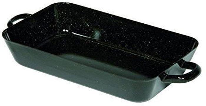 Жаровня Riess Schwarz, с эмалевым покрытием, 45 х 26 х 6,9 см0404-022Торговая марка «Riess» представляет собой эксклюзивную коллекцию стальной посуды, покрытую двумя слоями стекловидной эмали. Производится в Австрии с 1550 года с применением новейших технологий. Высочайшее качество и уникальный дизайн широко известны и высоко оценены покупателями эмалированной посуды во всем мире. Разнообразные расцветки с уникальным декором являются вдохновением к приготовлению пищи и воплощают в жизнь все последние тенденции в декорации кухни и столовой. Благодаря высокой устойчивости к ультрафиолетовому излучению, вы очень долго будете наслаждаться нежными расцветками и блеском эмалированной посуды «Riess». В жаровнях и сковородках можно варить, жарить, тушить. Подходит для всех видов плит, включая индукционную. Также можно использовать в духовке. Легко очищаются: достаточно ненадолго замочить в воде и протереть губкой для мытья посуды с моющим средством.Можно использовать моющие средства и мыть в посудомоечной машине. При уходе за изделием запрещается использовать абразивные материалы. Срок годности не ограничен.