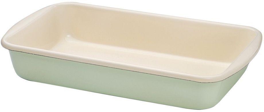 Жаровня Riess Pastell, с эмалевым покрытием, 38 х 22,5 х 7 см0436-006Торговая марка «Riess» представляет собой эксклюзивную коллекцию стальной посуды, покрытую двумя слоями стекловидной эмали. Производится в Австрии с 1550 года с применением новейших технологий. Высочайшее качество и уникальный дизайн широко известны и высоко оценены покупателями эмалированной посуды во всем мире. Разнообразные расцветки с уникальным декором являются вдохновением к приготовлению пищи и воплощают в жизнь все последние тенденции в декорации кухни и столовой. Благодаря высокой устойчивости к ультрафиолетовому излучению, вы очень долго будете наслаждаться нежными расцветками и блеском эмалированной посуды «Riess». В жаровнях и сковородках можно варить, жарить, тушить. Подходит для всех видов плит, включая индукционную. Также можно использовать в духовке. Легко очищаются: достаточно ненадолго замочить в воде и протереть губкой для мытья посуды с моющим средством.Можно использовать моющие средства и мыть в посудомоечной машине. При уходе за изделием запрещается использовать абразивные материалы. Срок годности не ограничен.