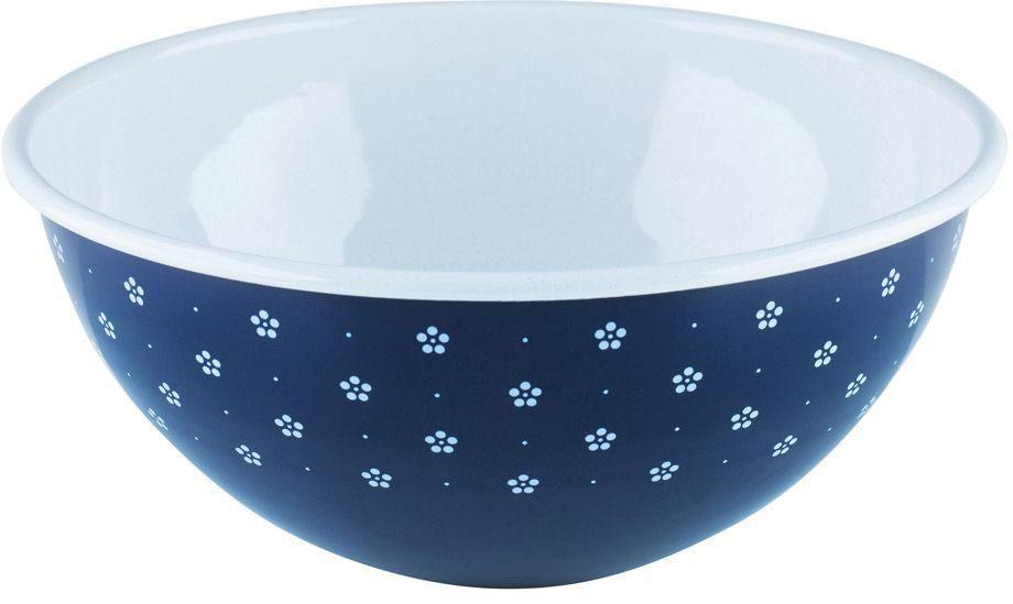Салатник Riess Blumchenblau, 4 л0465-073Торговая марка «Riess» представляет собой эксклюзивную коллекцию стальной посуды, покрытую двумя слоями стекловидной эмали. Производится в Австрии с 1550 года с применением новейших технологий. Высочайшее качество и уникальный дизайн широко известны и высоко оценены покупателями эмалированной посуды во всем мире. Разнообразные расцветки с уникальным декором являются вдохновением к приготовлению пищи и воплощают в жизнь все последние тенденции в декорации кухни и столовой. Благодаря высокой устойчивости к ультрафиолетовому излучению, вы очень долго будете наслаждаться нежными расцветками и блеском эмалированной посуды «Riess». В жаровнях и сковородках можно варить, жарить, тушить. Подходит для всех видов плит, включая индукционную. Также можно использовать в духовке. Легко очищаются: достаточно ненадолго замочить в воде и протереть губкой для мытья посуды с моющим средством.Можно использовать моющие средства и мыть в посудомоечной машине. При уходе за изделием запрещается использовать абразивные материалы. Срок годности не ограничен.