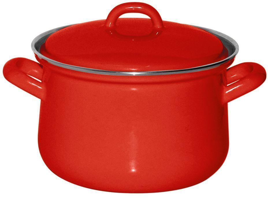 Кастрюля Riess Fresh Tomato, с эмалевым покрытием, 1,5 л0606-064Торговая марка «Riess» представляет собой эксклюзивную коллекцию стальной посуды, покрытую двумя слоями стекловидной эмали. Производится в Австрии с 1550 года с применением новейших технологий. Высочайшее качество и уникальный дизайн широко известны и высоко оценены покупателями эмалированной посуды во всем мире. Разнообразные расцветки с уникальным декором являются вдохновением к приготовлению пищи и воплощают в жизнь все последние тенденции в декорации кухни и столовой. Благодаря высокой устойчивости к ультрафиолетовому излучению, вы очень долго будете наслаждаться нежными расцветками и блеском эмалированной посуды «Riess». В жаровнях и сковородках можно варить, жарить, тушить. Подходит для всех видов плит, включая индукционную. Также можно использовать в духовке. Легко очищаются: достаточно ненадолго замочить в воде и протереть губкой для мытья посуды с моющим средством.Можно использовать моющие средства и мыть в посудомоечной машине. При уходе за изделием запрещается использовать абразивные материалы. Срок годности не ограничен.