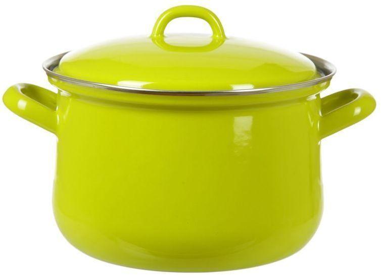 Кастрюля Riess Lemon Green, с эмалевым покрытием, 2,5 л0607-061Торговая марка «Riess» представляет собой эксклюзивную коллекцию стальной посуды, покрытую двумя слоями стекловидной эмали. Производится в Австрии с 1550 года с применением новейших технологий. Высочайшее качество и уникальный дизайн широко известны и высоко оценены покупателями эмалированной посуды во всем мире. Разнообразные расцветки с уникальным декором являются вдохновением к приготовлению пищи и воплощают в жизнь все последние тенденции в декорации кухни и столовой. Благодаря высокой устойчивости к ультрафиолетовому излучению, вы очень долго будете наслаждаться нежными расцветками и блеском эмалированной посуды «Riess». В жаровнях и сковородках можно варить, жарить, тушить. Подходит для всех видов плит, включая индукционную. Также можно использовать в духовке. Легко очищаются: достаточно ненадолго замочить в воде и протереть губкой для мытья посуды с моющим средством.Можно использовать моющие средства и мыть в посудомоечной машине. При уходе за изделием запрещается использовать абразивные материалы. Срок годности не ограничен.