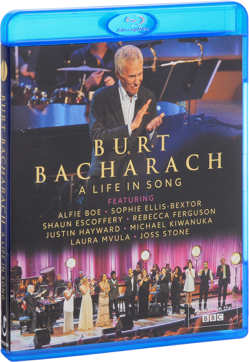 Burt Bacharach: A Life In Song (Blu-ray) burt bacharach a life in song blu ray