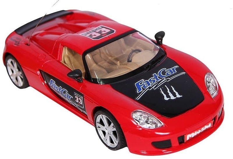 Mioshi Машинка на радиоуправлении Tech цвет красно-черный