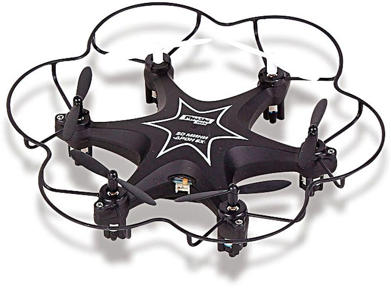 Mioshi Квадрокоптер на радиоуправлении Tech 3D Мини-дрон 6Х