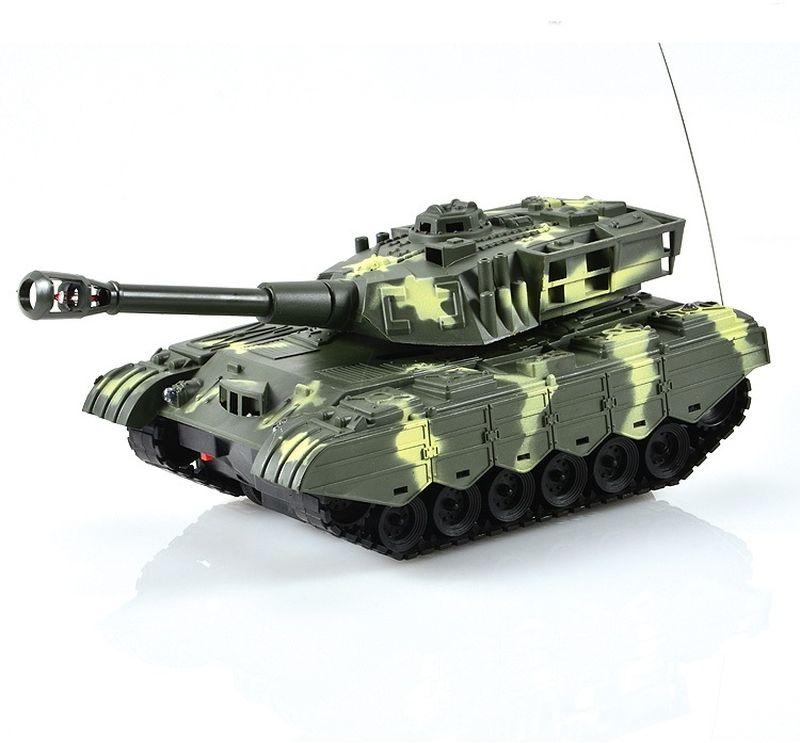 Mioshi Танк на радиоуправлении Army МТ-72 цвет бело-зеленый