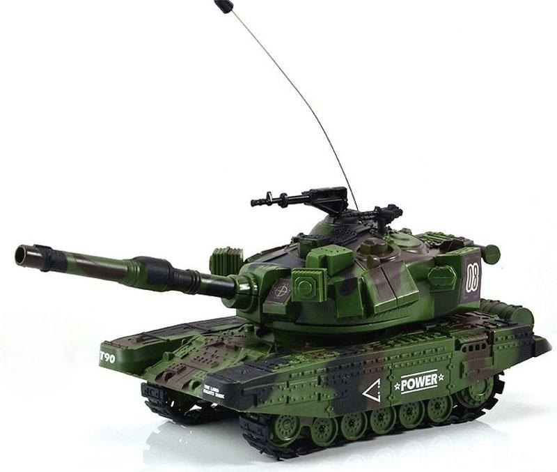 Mioshi Танк на радиоуправлении Army МТ-90 цвет зеленый - Радиоуправляемые игрушки