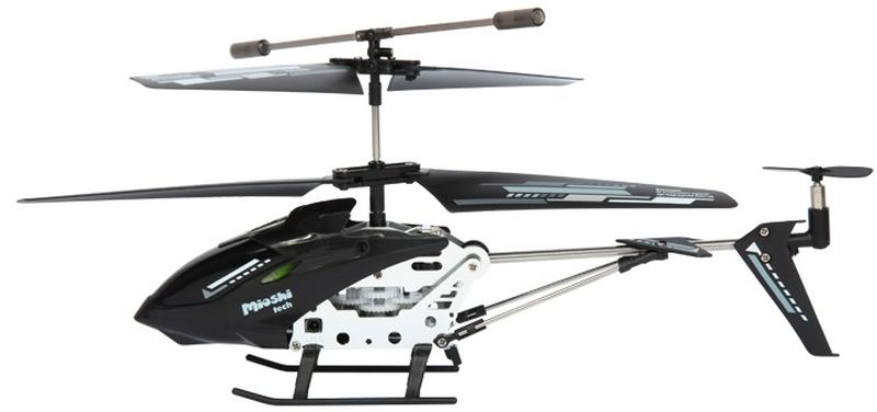 Mioshi Вертолет на радиоуправлении Tech IR- 222 цвет черный
