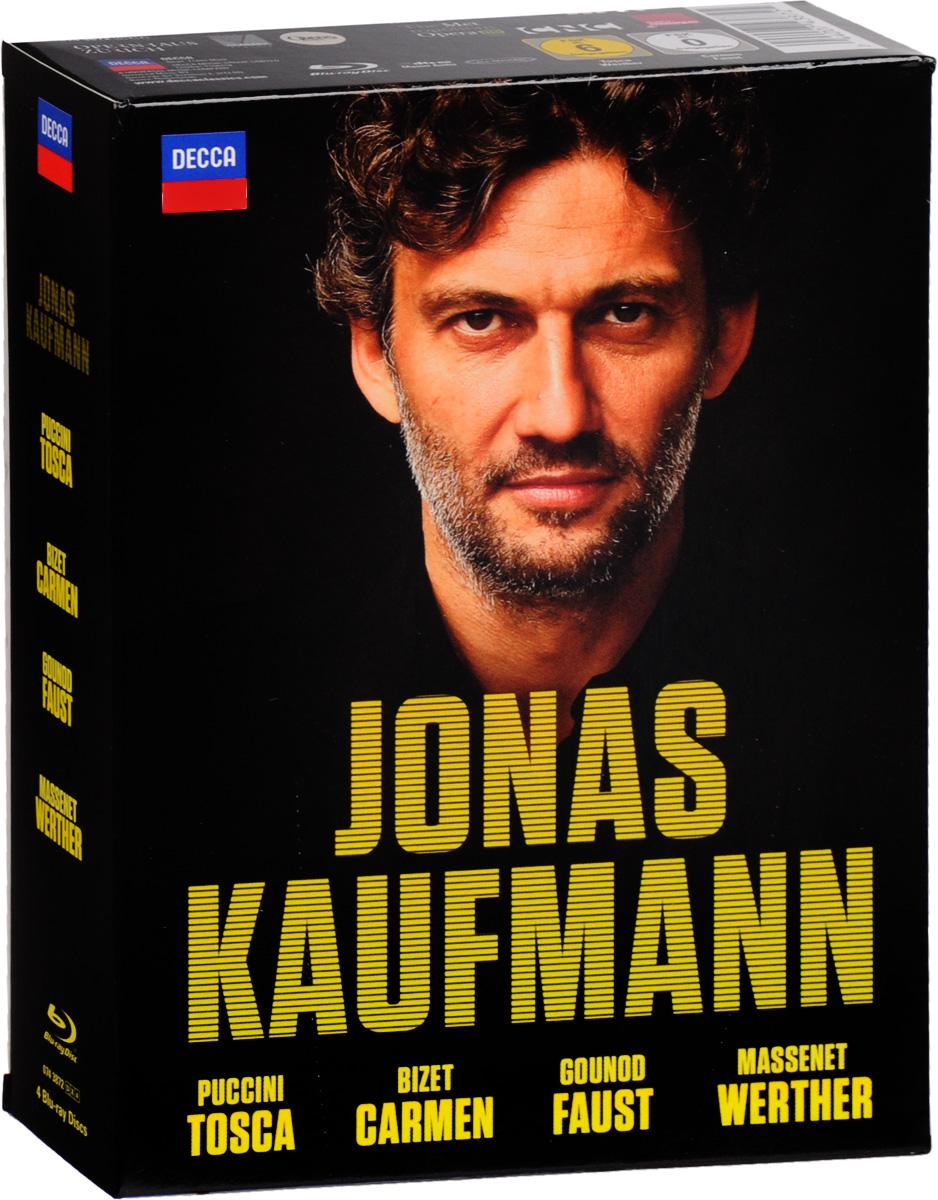 Jonas Kaufmann: Tosca / Carmen / Faust / Werther (4 Blu-ray) цена 2017