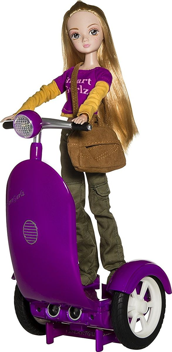 SmartGurlz Робот Сигги с куклой Жанна сигвей для двоих