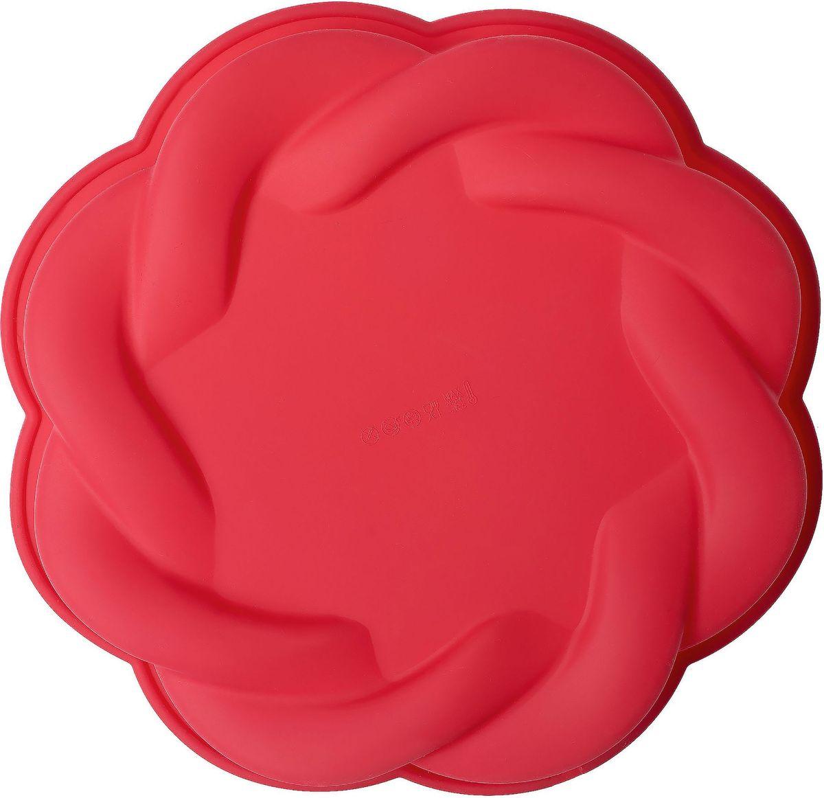 Форма для выпечки Walmer Tart, цвет: красныйW27284000Форма для выпечки Walmer Tart выполнена из силикона. В силиконовой форме тесто не пригорает, пропекается быстро и равномерно, а готовое изделие легко извлекать. Форма подходят для любых типов духовок, а также ее можно использовать для заморозки – она выдерживает температуру до -30°С. Форма для выпечки Walmer Tart изготавливается из качественного плотного силикона, который не плавится даже при сильном нагреве. Форма с классическим орнаментом - идеальна для любителей выпечки из песочного теста.Форма не требует смазывания маслом перед приготовлением (только перед первым использованием); Можно мыть в посудомоечной машине; Не ставить форму на электрическую конфорку и огонь;Нельзя использовать острые предметы при разрезании выпечки в форме;Не мыть форму с использованием абразивных материалов.