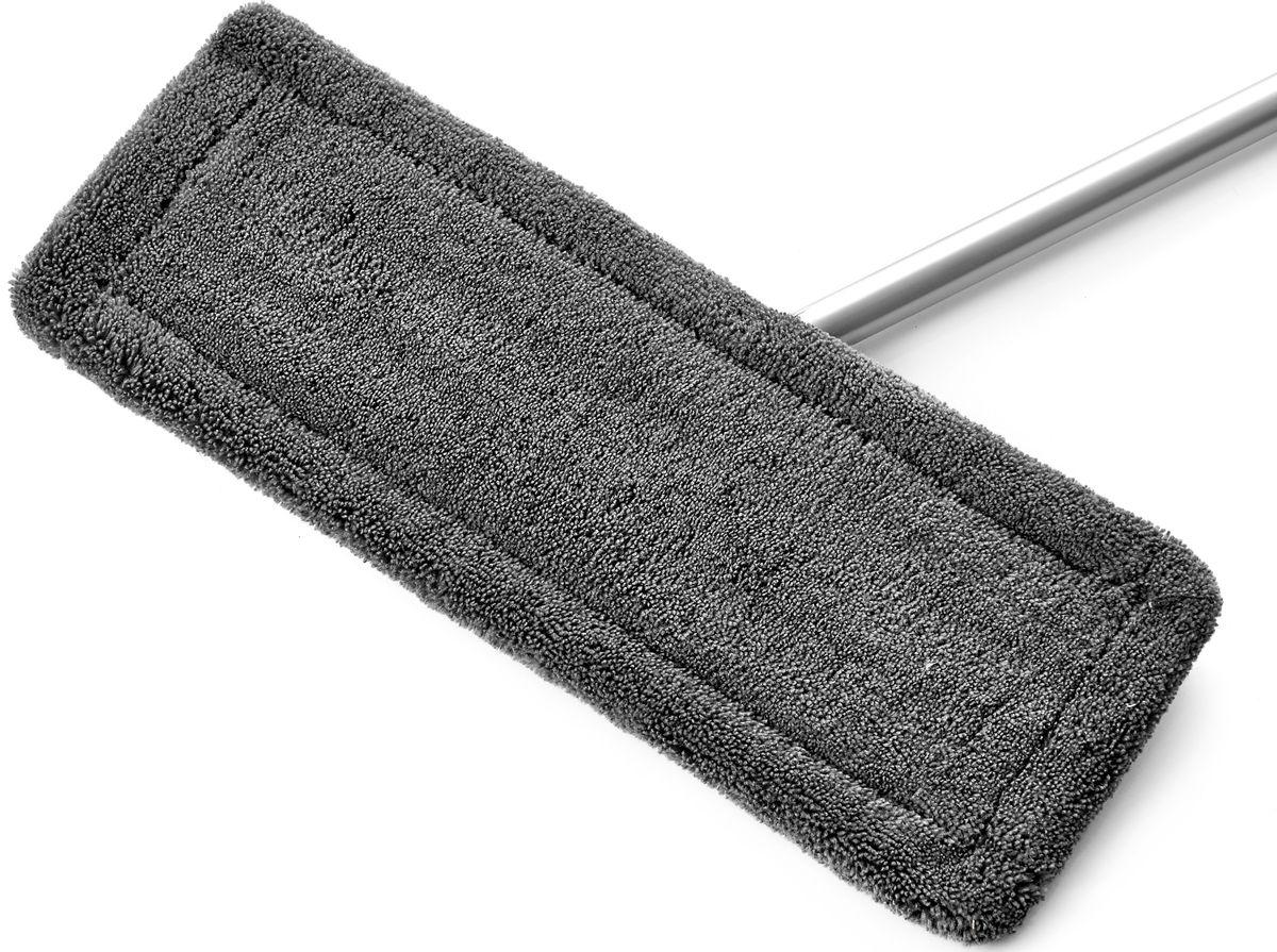 Насадка сменная для швабры на липучке Walmer House, цвет: серый, 36 х 12 смW28123613Сменная насадка для швабры на липучке Walmer House изготовлена из микрофибры. Микрофибра отлично поглощает влагу. Применяется для влажной уборкикафеля и керамогранита, деревянных полов и ламината. Идеально собирает пыль и грязь, быстровпитывает влагу, полирует поверхности. Насадка не оставляет разводов и ворсинок. Впитывает в5 раз больше воды, чем обычная ткань или хлопковая насадка. Размер: 36 х 12 см.