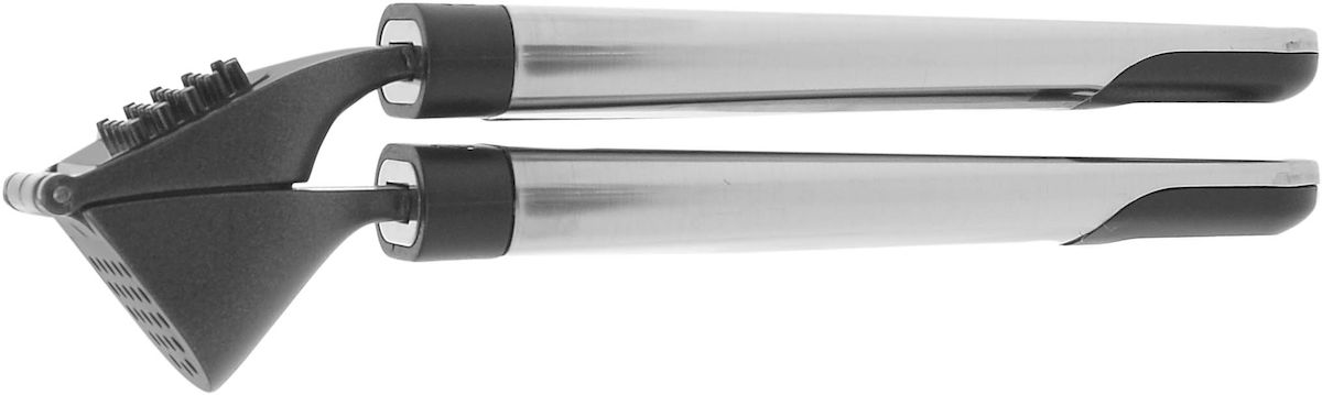 Пресс для чеснока Salt&Pepper Tools, цвет: черныйBAM37909Кухонные принадлежности, поварские инструменты - необходимые помощники для облегчения жизни на кухне. Эта коллекция содержит все необходимые инструменты. Эффективные кухонные аксессуары выполнены в классическом черном цвете и из нержавеющей стали.