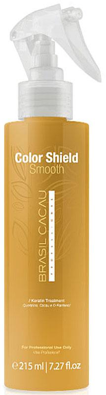 Brasil Cacau Защита цвета и разглаживание волос в течении 4-х недель Color shield and smooth new 215 млPA0015Защита цвета и разглаживание волос в течении 4 недель