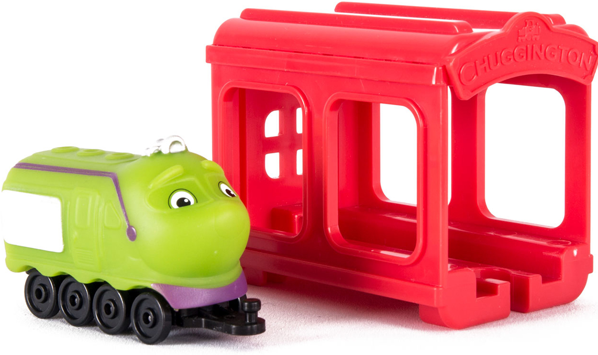 Chuggington Паровозик Коко с гаражом