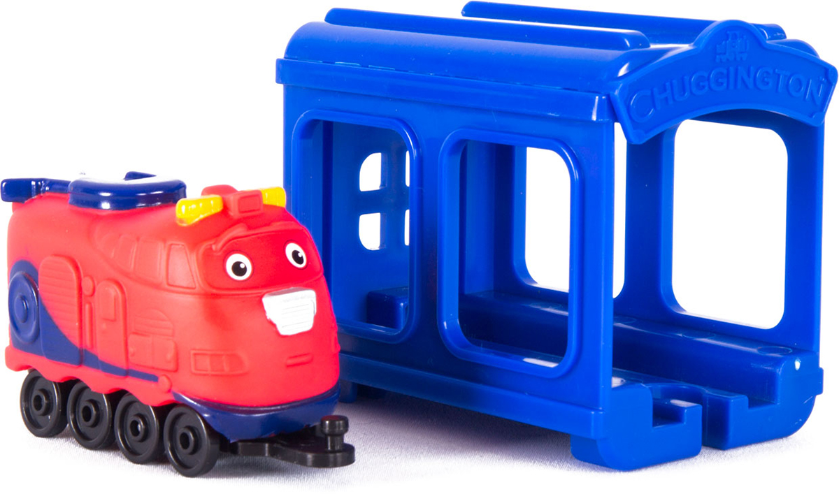 Chuggington Паровозик Джэкмен с гаражом