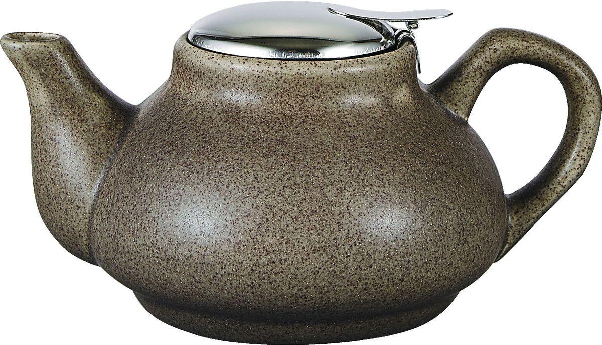 Чайник заварочный Elrington Крошка, с фильтром, цвет: коричневый, 750 мл. FJH-10021-A202FJH-10021-A202