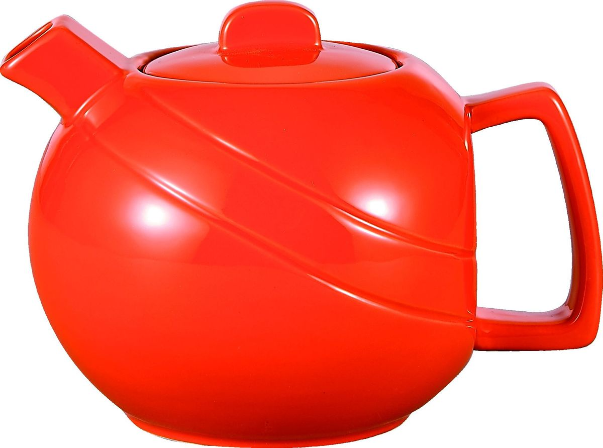 Чайник заварочный Elrington, с фильтром, цвет: красный, 1,15 лFJH-10461-A154Стильный заварочный чайник отлично впишется в ваш интерьер. Благодаря фильтру заваривать в нем чай будет очень удобно!