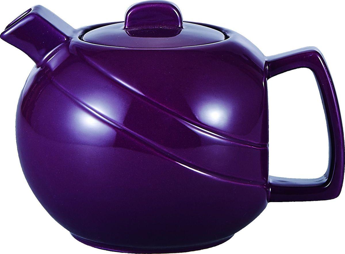 Чайник заварочный Elrington, с фильтром, 1,15 лFJH-10461-A156Заварочный чайник Elrington изготовлен из высококачественной керамики, покрытой эмалью в несколько слоев. Такой чайник гигиеничен и устойчив к износу при длительном использовании.Чайник оснащен фильтром из нержавеющей стали, который не позволит чаинкам попасть в чашку, при этом сохранит букет и насыщенность чая.