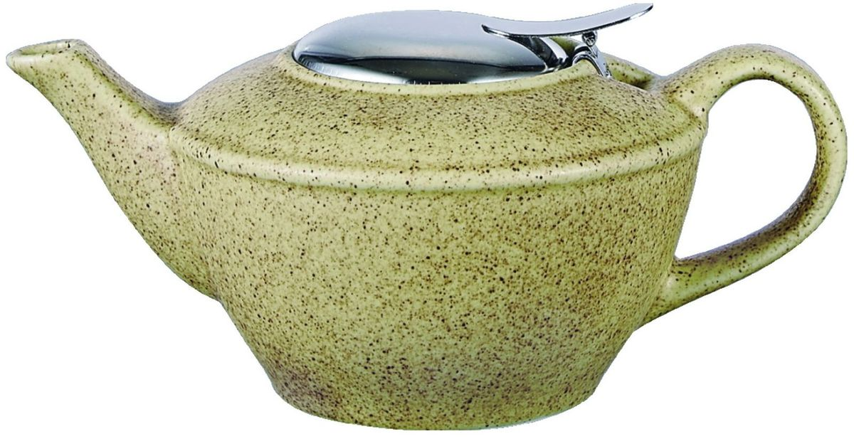 Чайник заварочный Elrington, с фильтром, 500 мл. FJH-10481-A201FJH-10481-A201Заварочный чайник Elrington изготовлен из высококачественной керамики, покрытой эмалью в несколько слоев. Такой чайник гигиеничен и устойчив к износу при длительном использовании.Чайник оснащен фильтром из нержавеющей стали, который не позволит чаинкам попасть в чашку, при этом сохранит букет и насыщенность чая.