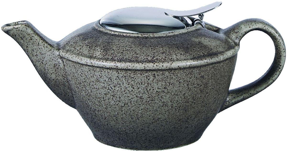 Чайник заварочный Elrington, с фильтром, цвет: серый, 500 млFJH-10481-A202Стильный чайник отлично впишется в ваш интерьер. Благодаря фильтру, заваривать в нем чай будет очень удобно!