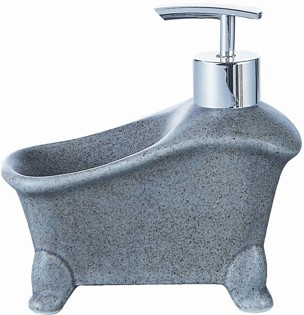 Дозатор для жидкого мыла Elrington, с подставкой для губки. FJH-10771-A203FJH-10771-A203