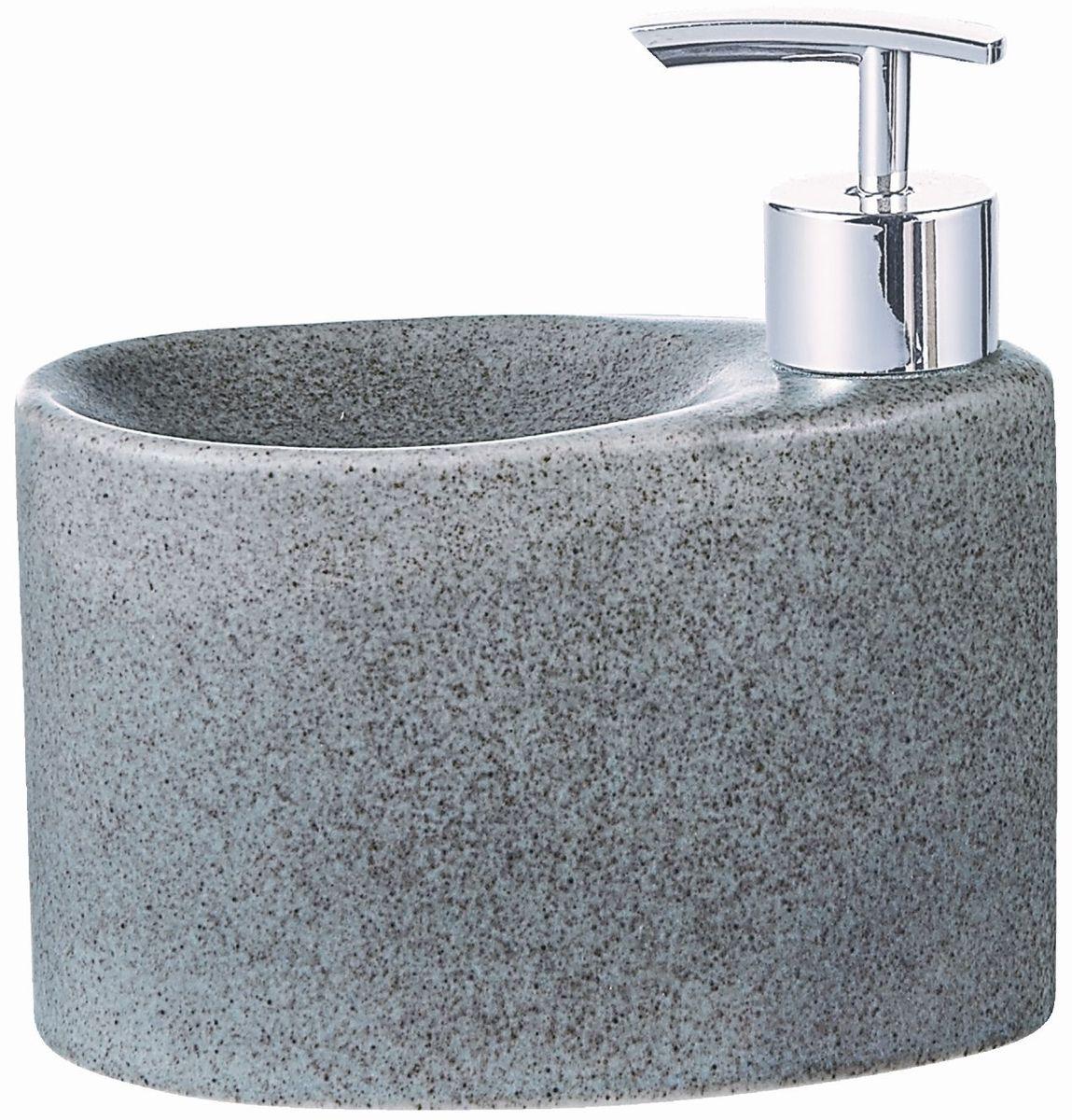 Дозатор для жидкого мыла Elrington, с подставкой для губки. FJH-10772-A203FJH-10772-A203