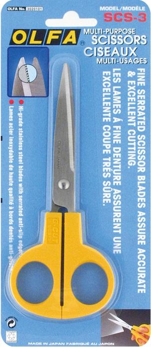 Ножницы многофункциональные  Olfa , длина лезвия 6,5 см -  Канцелярские ножи и ножницы
